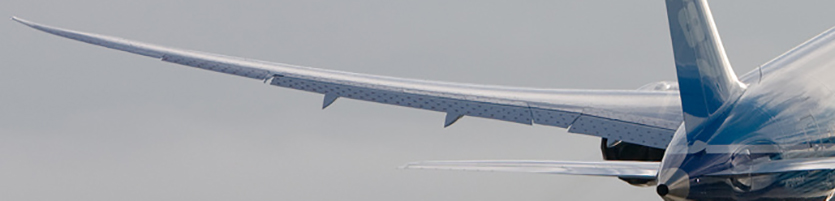 Boeing wing